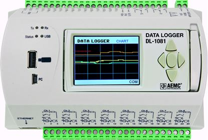 Picture of AEMC DL-1081 8 Channel Datalogger