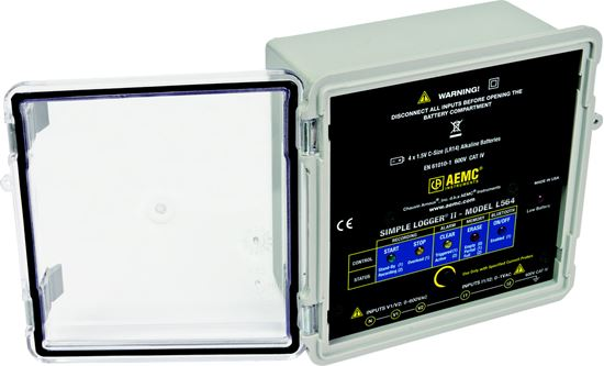 Picture of AEMC L564 4-Channel AC Voltage & Current Data Logger