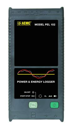 Picture of AEMC PEL102 Power and Energy Datalogger