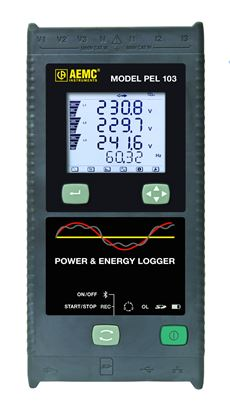 Picture of AEMC PEL103 Power and Energy Datalogger