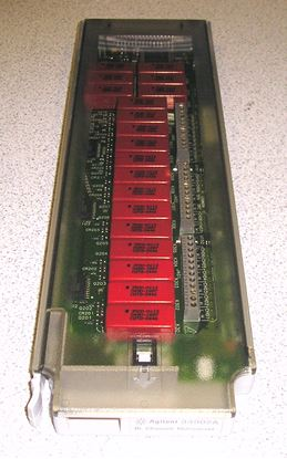 Picture of Agilent/HP 34902A 16 Channel Multiplexer