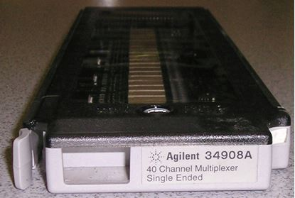 Picture of Agilent/HP 34908A 40 Channel Single-Ended Multiplexer Module