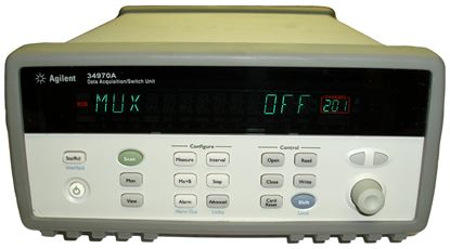 Picture of Agilent/HP 34970A Datalogger Mainframe
