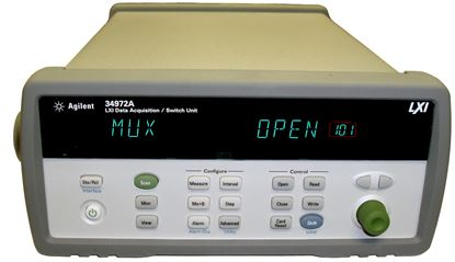 Picture of Agilent/HP 34972A LXI Data Acquisition Switch Unit