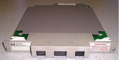 Picture of Agilent/HP 44473A 4x4 Two-Wire Matrix Switch