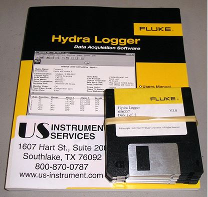 Picture of Fluke Hydra Logger for Windows Software