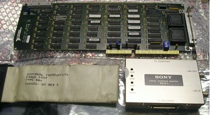 Picture of Sony PCIF-200A Computer Interface