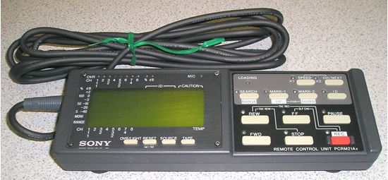 Picture of Sony PCRM21AX Remote Control