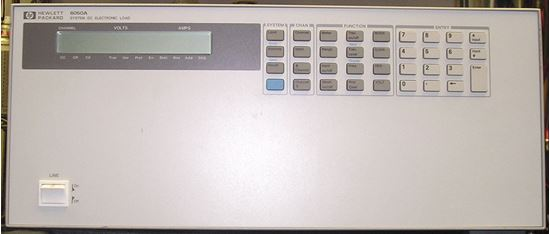 Picture of Agilent/HP 6050A 1800 Watt DC Electronic Load Mainframe