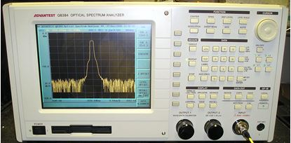 Picture of Advantest Q8384 Optical Spectrum Analyzer