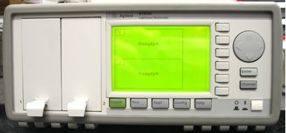 Picture of Agilent/HP 8163A Optical 2 Channel Mainframe