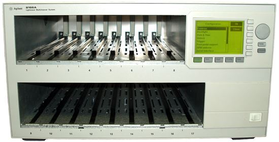 Picture of Agilent/HP 8166A 17 Channel Lightwave Mainframe