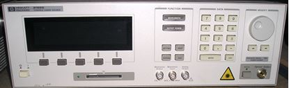Picture of Agilent/HP 8168E Tunable Laser Source