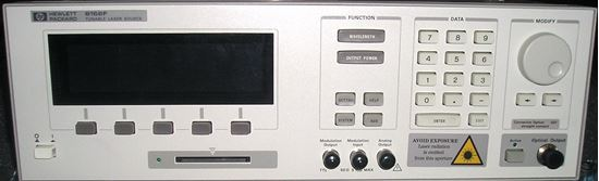 Picture of Agilent/HP 8168F Tunable High Output Laser
