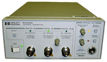 Picture of Agilent/HP 834830A Lightwave Transmitter