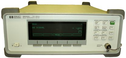 Picture of Agilent/HP 86120C Optical Multiwavelength Frequency Counter