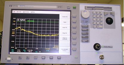 Picture of Agilent/HP 86142A Optical Spectrum Analyzer with option 06