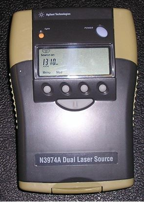 Picture of Agilent/HP N3974A Optical Power Source
