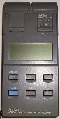 Picture of Anitsu ML9002A Handheld Optical Power Meter