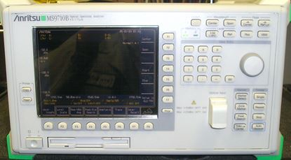 Picture of Anritsu MS9710B Optical Spectrum Analyzer