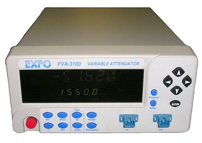 Picture of Exfo FVA-3100 GPIB Fiber Optic Attenuator