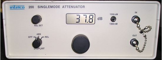 Picture of Intelco 200 Optical Variable Attenuator