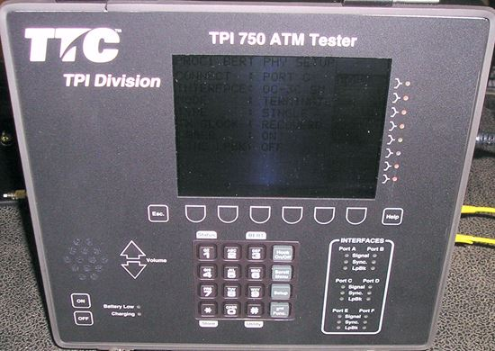 Picture of Acterna TPI 750 OC-3C ATM Tester