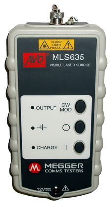 Picture of Megger MLS635 Visible Laser Source