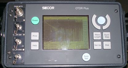 Picture of Siecor 850/1300/1310/1550nm Single and Multimode OTDR Plus