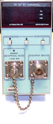 Picture of Tektronix OE502 1500 MHz Optical to Electrical Converter