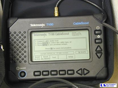 Picture of Tektronix TV90 Cable Scout,TDR Cable Tester