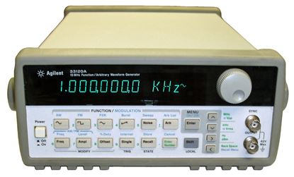 Picture of Agilent/HP 33120A 15 MHz Function Generator / Arbitrary Waveform Generator