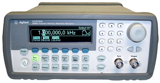 Picture of Agilent/HP 33220A 20 MHz Function Generator