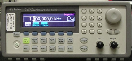 Picture of Agilent/HP 33250A 80 MHz Function Generator