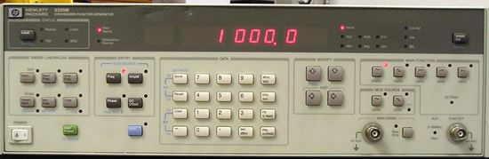Picture of Agilent/HP 3325B 20 MHz Function Generator