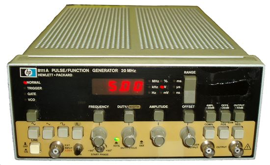 Picture of Agilent/HP 8111A 20 MHz Function Generator