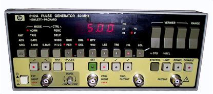Picture of Agilent/HP 8112A 50 MHz Function Generator