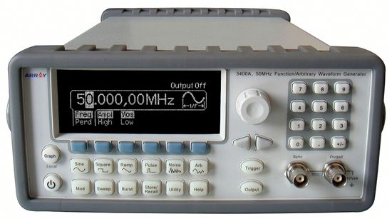 Picture of Array 3400A 50 MHz Function Generator with USB