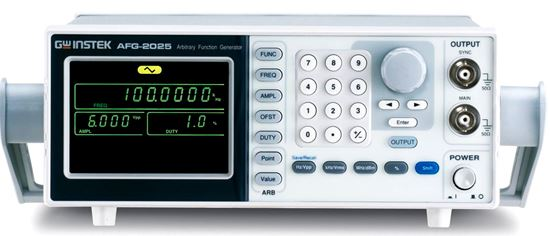 Picture of Instek AFG-2125 25 MHz Arbitrary Function Generator with Sweep