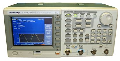 Picture of Tektronix AFG3252 2 Channel 240 MHz Arbitrary Waveform Generator