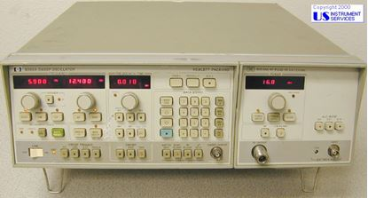 Picture of Agilent/HP 8350A Sweep Oscillator , 83545A 5.9-12.46 GHz RF Plug-In