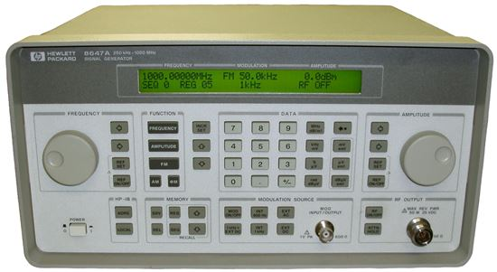 US-Instrument Services  Agilent/HP 8647A 1 GHz Analog RF