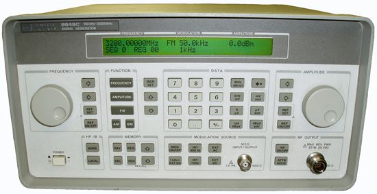 Picture of Agilent/HP 8648C 3 GHz Signal Generator