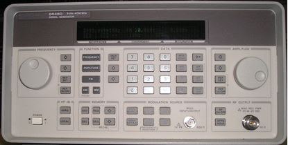 Picture of Agilent/HP 8648D 4 GHz Synthesized Signal Generator