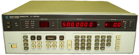 Picture of Agilent/HP 8656A 990 MHz Synthesized Signal Generator