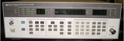 Picture of Agilent/HP 8657A .1-1040 MHz Signal Generator