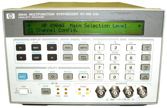 Picture of Agilent/HP 8904A DC-600 KHz Multifunction Synthesizer Options 2/4
