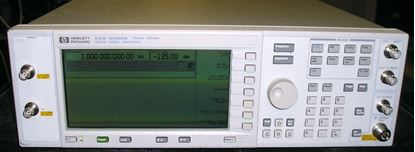 Picture of Agilent/HP E4430A Digital RF Signal Generator .250 to 1000 MHz