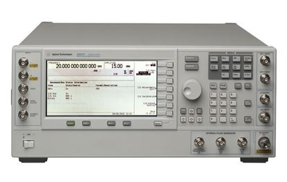 Picture of Agilent/HP (HP) E8267C 20 GHz PSG Vector Signal Generator