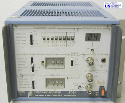 Picture of WG PCG-1 ,PCM Channel Generator